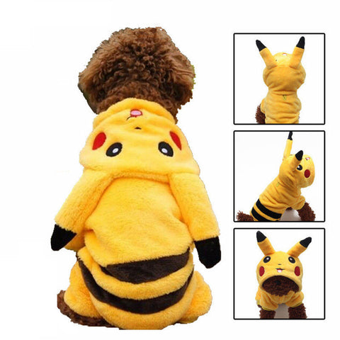 Pikachu Costume for Dogs/Cats - Gamer Treasures