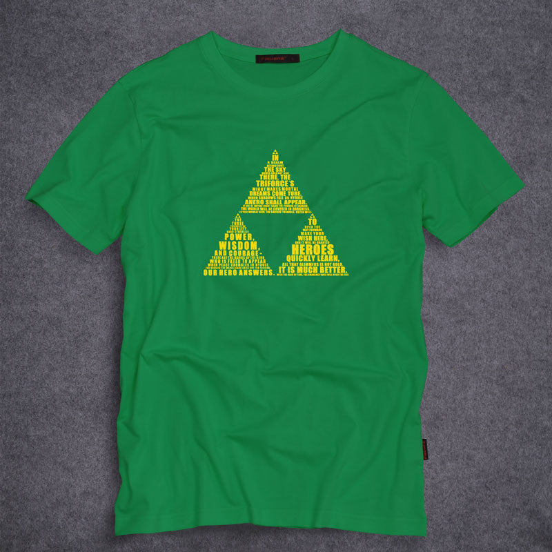 Triforce The Legend of Zelda T-shirt - Gamer Treasures