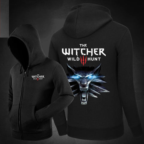 The Witcher 3: Wild Hunt Hoodie Black