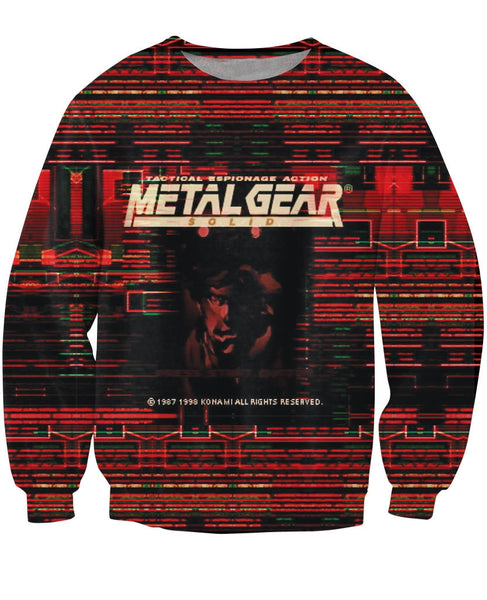 Metal Gear Solid Sweater - Gamer Treasures