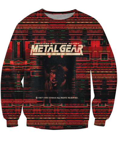 Metal Gear Solid 1 Sweater - Gamer Treasures