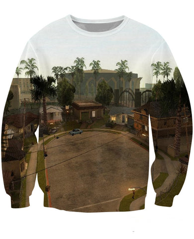 Grove Street GTA: San Andreas 3D Sweater - Gamer Treasures
