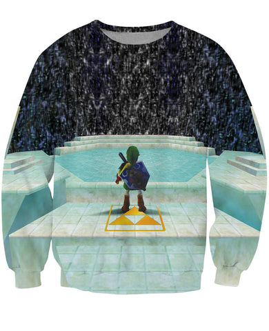 Great Fairy Fountain The Legend of Zelda: Ocarina of Time Sweatshirt - Gamer Treasures
