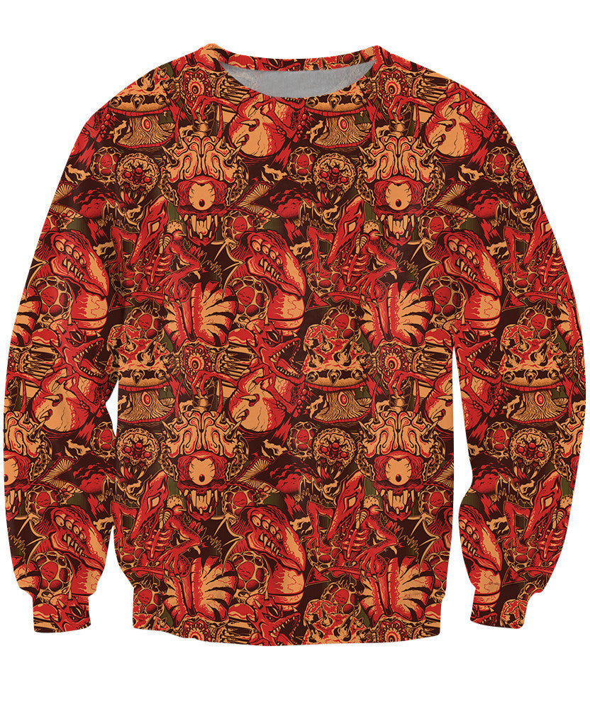 Planet Zebes Metroid Sweater - Gamer Treasures