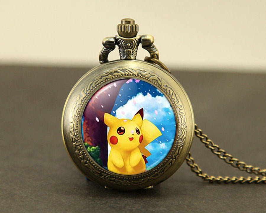 Pikachu Pocket Watch - Gamer Treasures