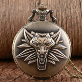 The Witcher III: Wild Hunt Pocket Watch - Gamer Treasures