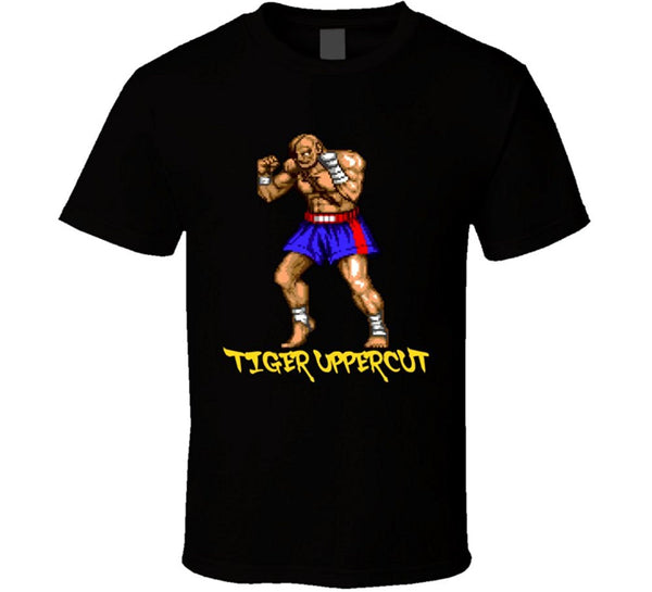 Sagat Tiger Uppercut Street Fighter T-shirt