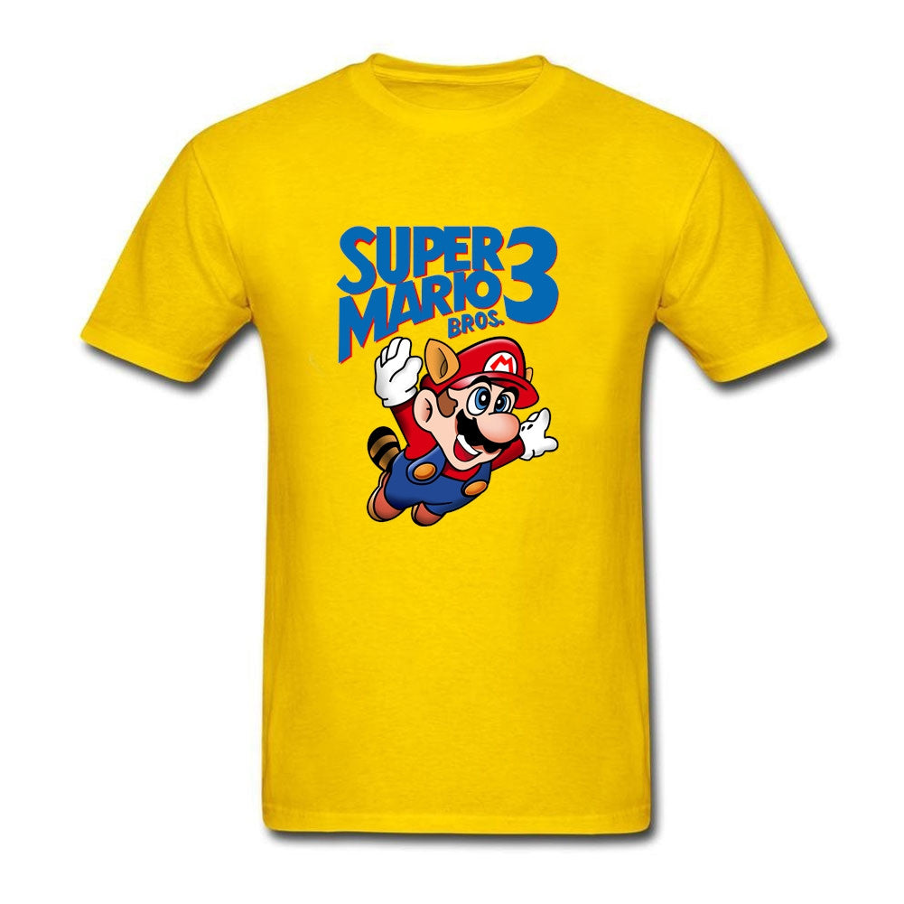Super Mario Bros 3 T-shirt - Gamer Treasures