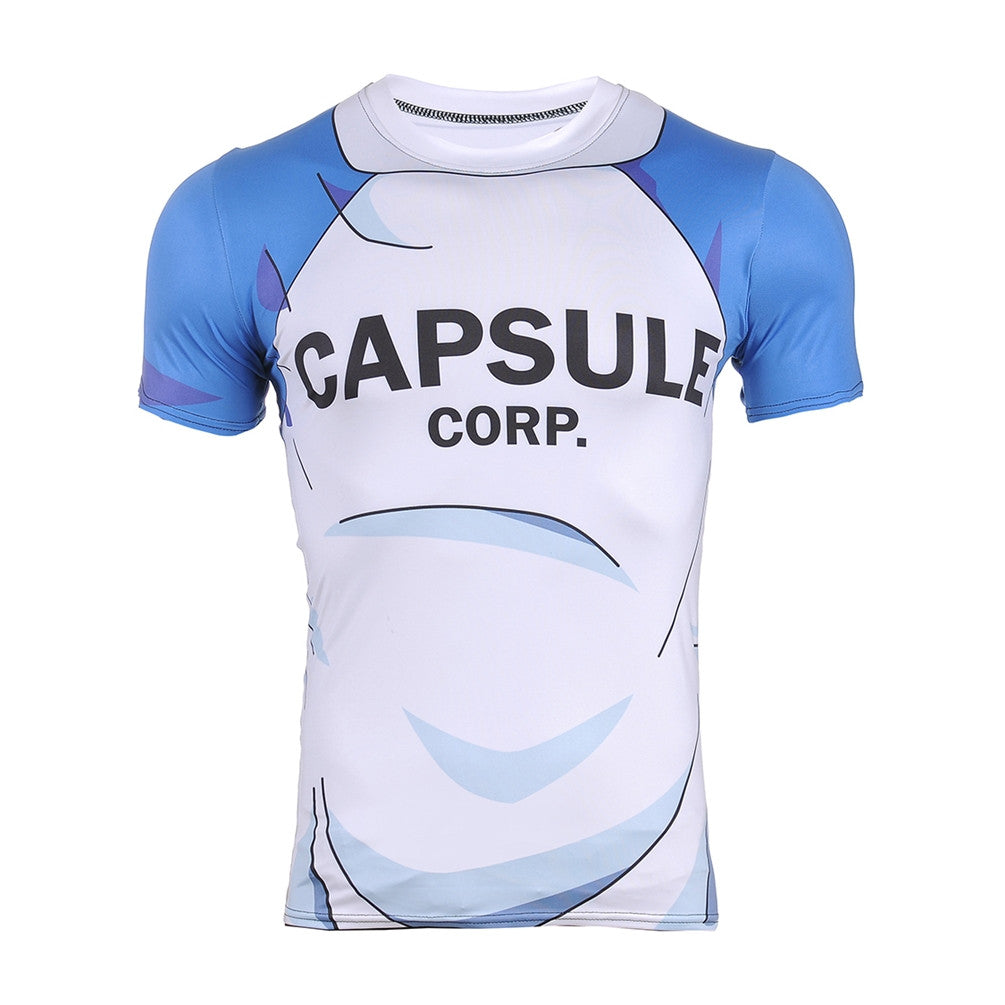 Capsule Corp. Dragon Ball Z Compression Shirt - Gamer Treasures