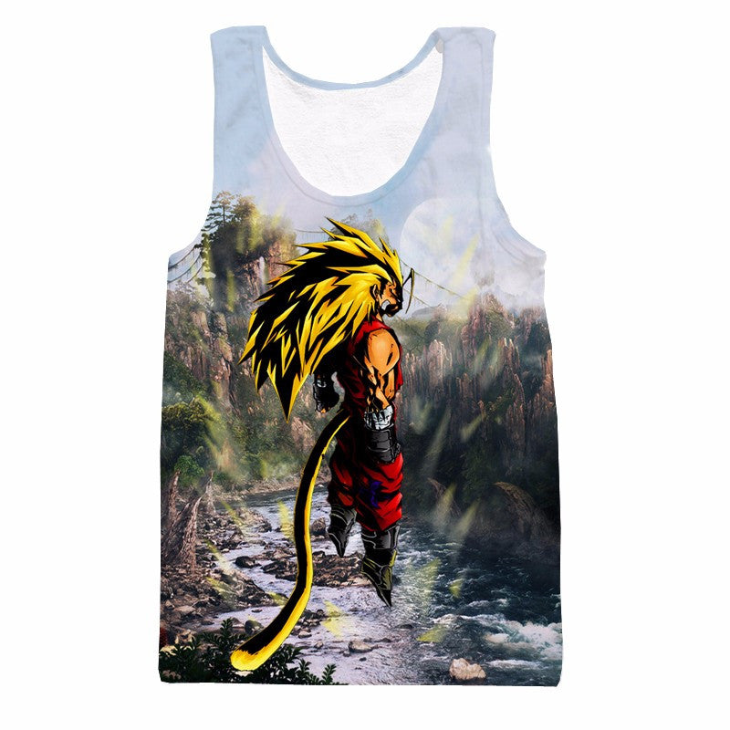 Son Goku Super Saiyan 3 Mode Dragon Ball Tank Top - Gamer Treasures