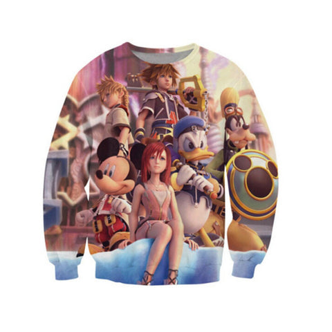Kingdom Hearts 3D Sweater - Gamer Treasures