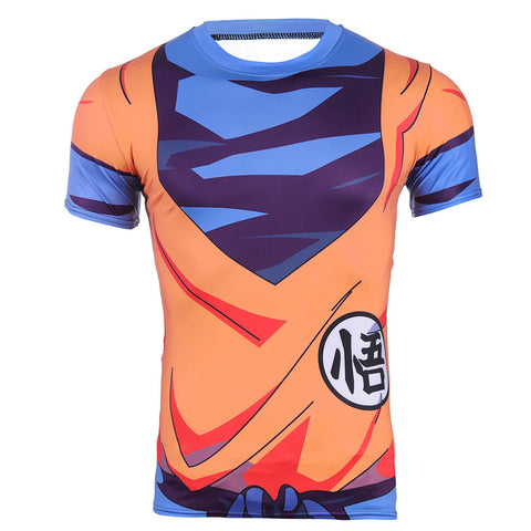 Son Goku Turtle School Uniform Dragon Ball Compression T-shirt - Gamer Treasures