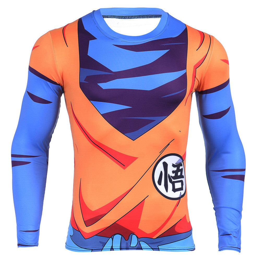 Son Goku Turtle School Uniform Long Sleeve - Gamer Treasures