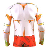 Broly's Body Dragon Ball Z Long Sleeve Compression Shirt - Gamer Treasures