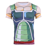 Dragon Ball Z Bardock's Armor Compression Shirt - Gamer Treasures