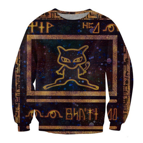 Ancient Mew Pokemon Sweatshirt - Gamer Treasures