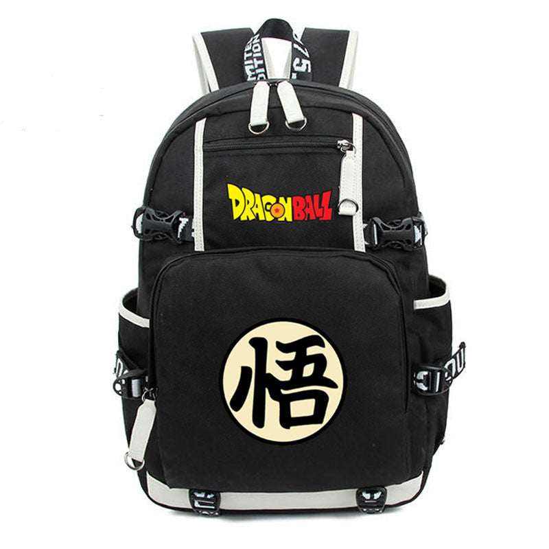 Dragon Ball Son Goku Kanji Backpack - Gamer Treasures