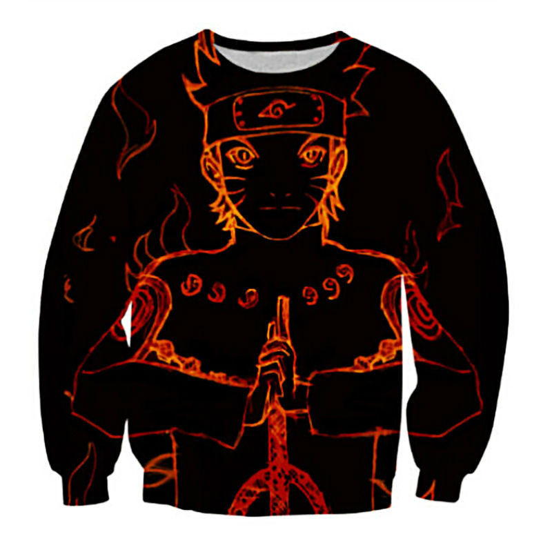 Naruto Sage of Six Paths Mode Sweatshirt - Gamer Treasures