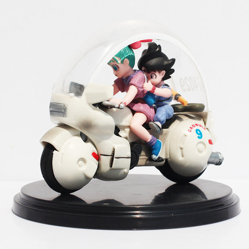 Son Goku & Bulma Motorcycle PVC Action Figure 8cm - Gamer Treasures