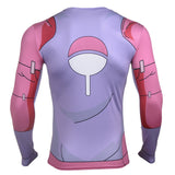Naruto First Hokage Hashirama Armor 3D Long Sleeve - Gamer Treasures