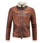 Leon Kennedy Resident Evil 4 PU Leather Jacket