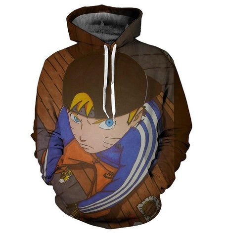 Naruto Fashion Hoodie - Gamer Treasures