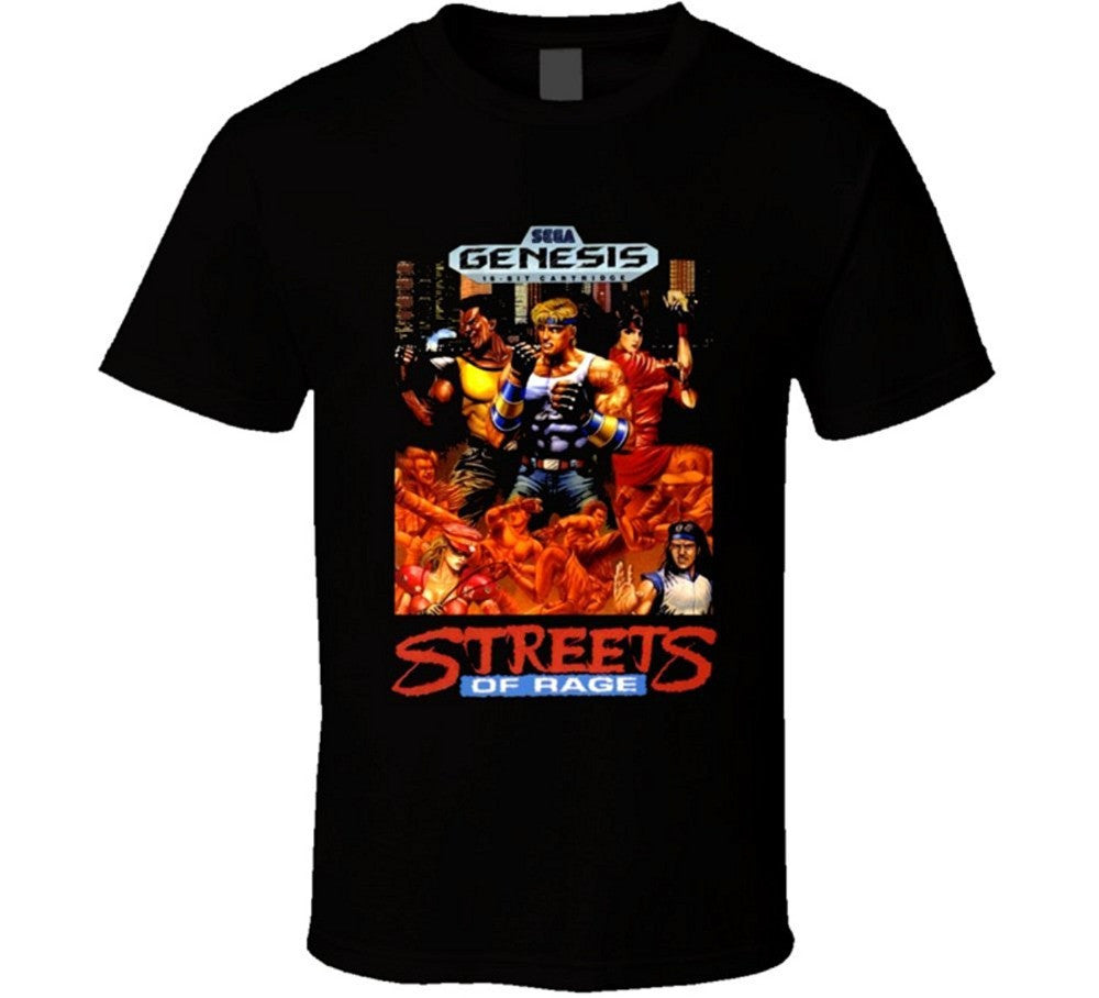 Streets Of Rage T-shirt - Gamer Treasures