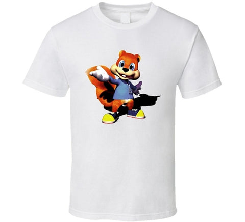 Conker T-shirt - Gamer Treasures