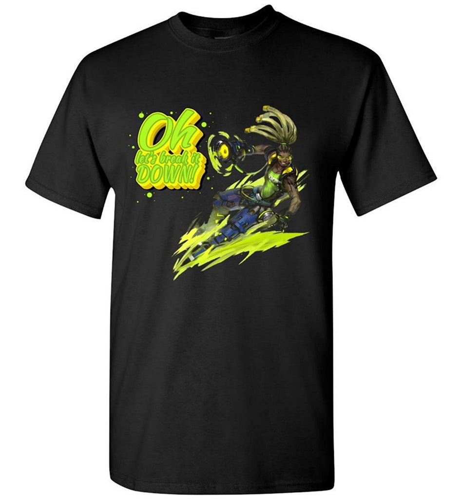 Lucio Oh Let's Break It Down T-shirt - Gamer Treasures