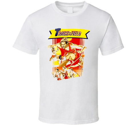 Track & Field T-shirt - Gamer Treasures