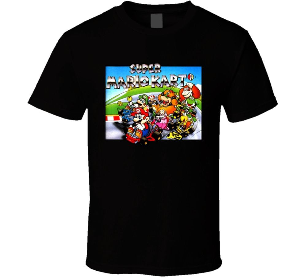 Super Mario Kart Box Art T-shirt - Gamer Treasures