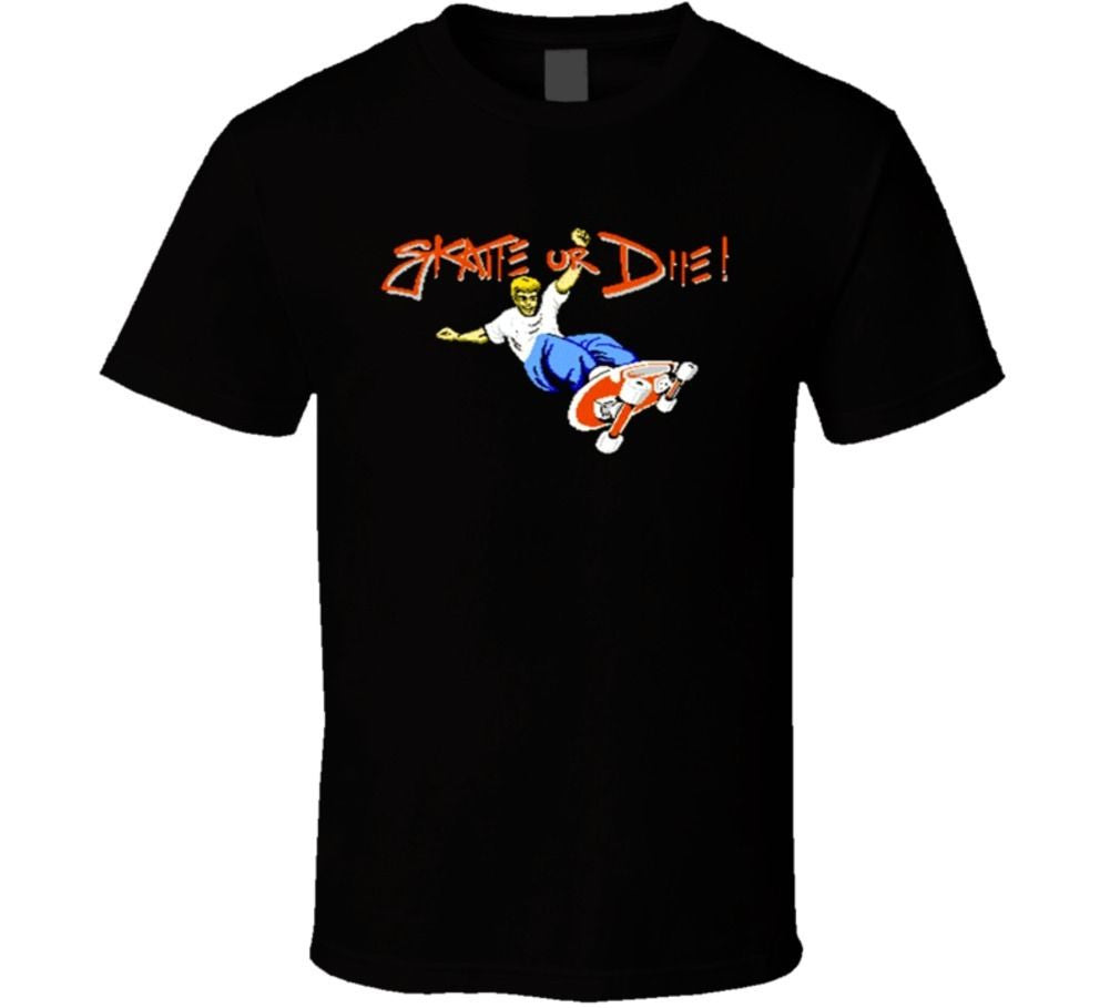 Skate Or Die T-shirt - Gamer Treasures