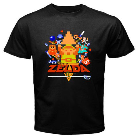The Legend of Zelda 1 T-shirt - Gamer Treasures