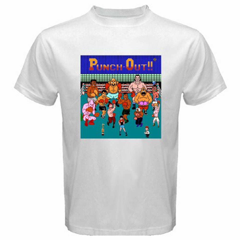 Punch Out!! Character Pose T-shirt - Gamer Treasures