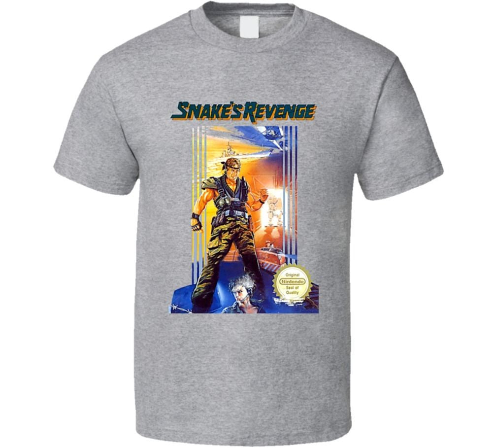 Snake's Revenge Metal Gear T-shirt - Gamer Treasures