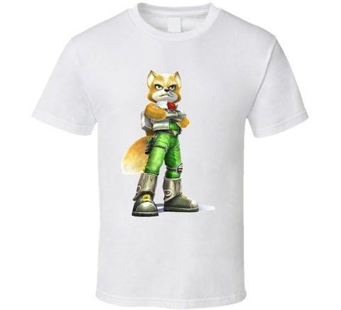 Fox McCloud T-shirt - Gamer Treasures