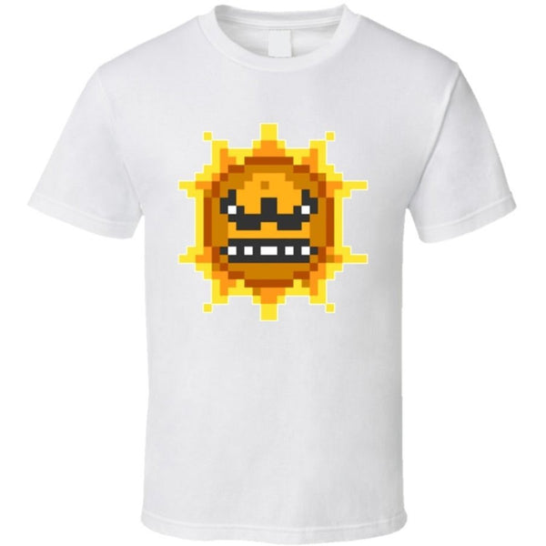Angry Sun From Super Mario Bros 3 T-shirt