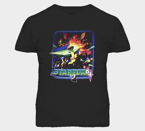 Star Fox 64 T-shirt - Gamer Treasures