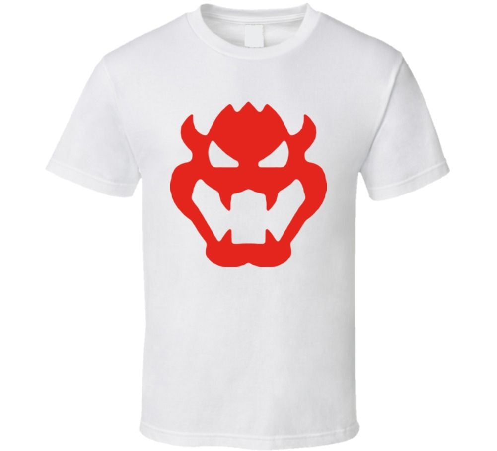 Bowser Logo T-shirt - Gamer Treasures