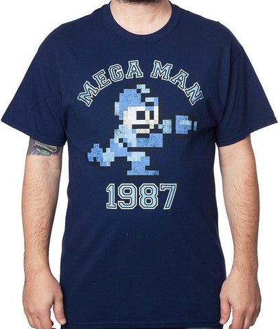 Mega Man 1987 T-shirt