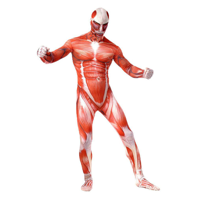 The Colossal Titan Full Body Suit - Gamer Treasures