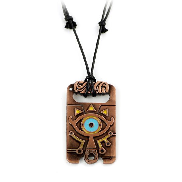 Sheikah Slate Necklace - Gamer Treasures