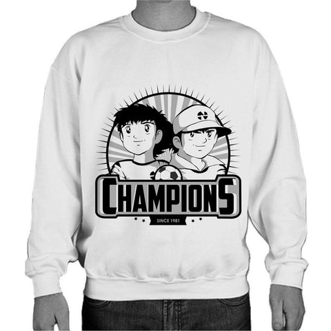 Captain Tsubasa Champions Since 1981 Sweatshirt - Gamer Treasures
