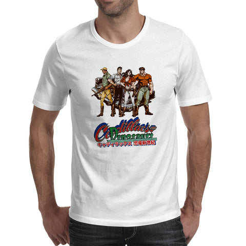 Cadillacs And Dinosaurs T-shirt - Gamer Treasures