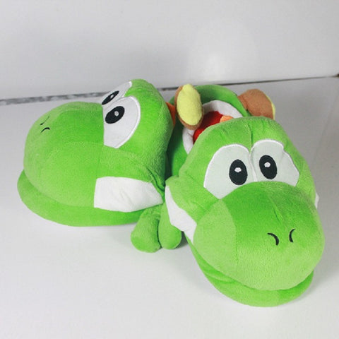 Yoshi Plush Indoor Slippers