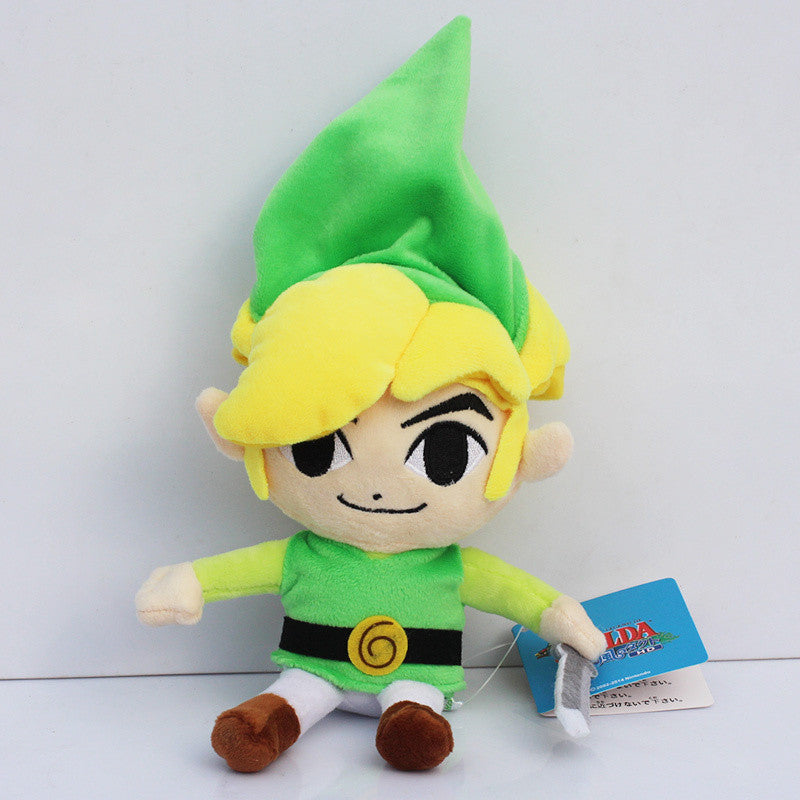 Link The Legend of Zelda Plush Toy 20cm/8 inches - Gamer Treasures