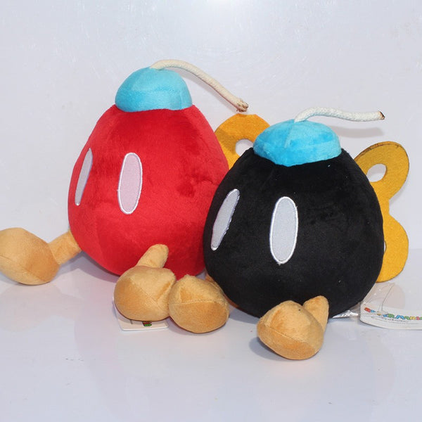 Bob-omb Plush Toy 16cm/6 inches - Gamer Treasures