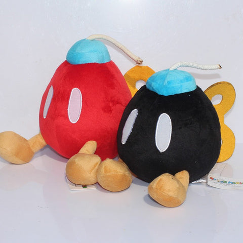 Bob-omb Super Mario Plush Toy 16cm/6 inches - Gamer Treasures