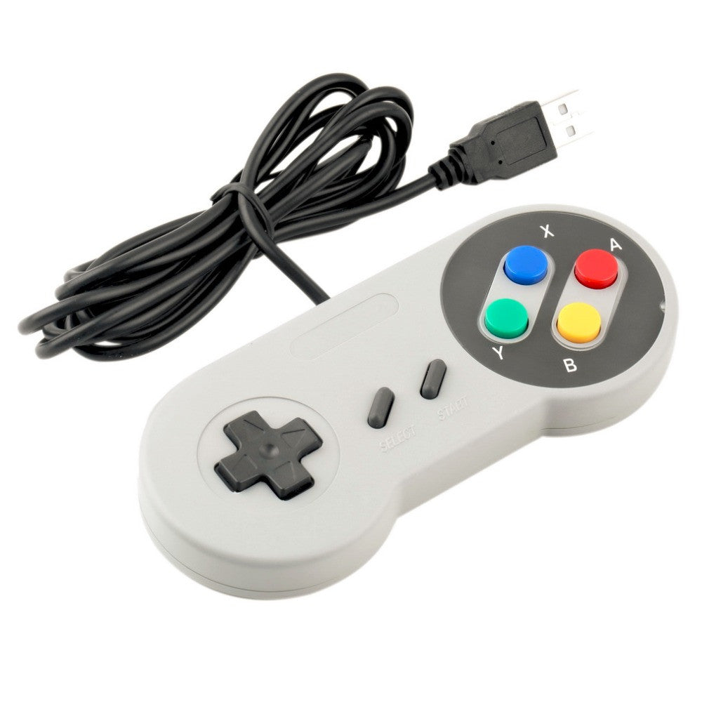 SNES USB Controller Euro Design - Gamer Treasures