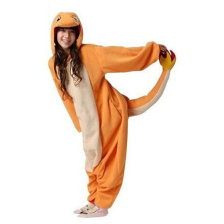 Charmander Pokemon Costume - Gamer Treasures